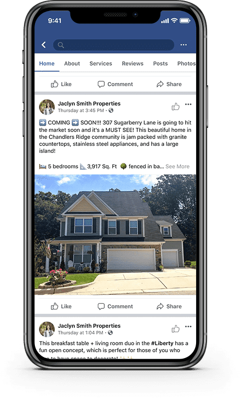 Jaclyn Smith Properties Facebook page