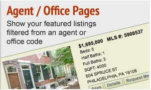 Agent/Office Pages